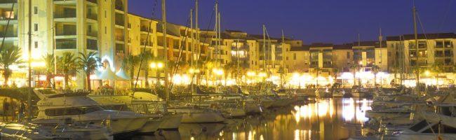Le port d' Argeles sur mer