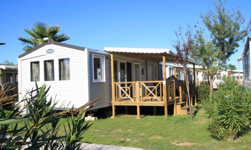 Mobil home Excellence 4/6 places-terrasse extérieur