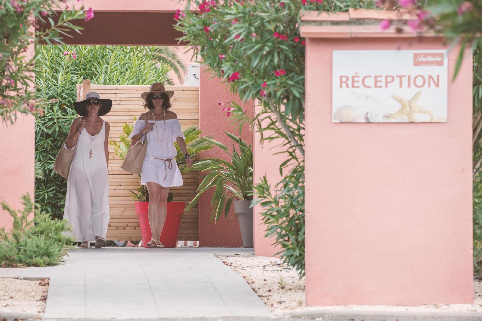 Réception résidence Antinéa